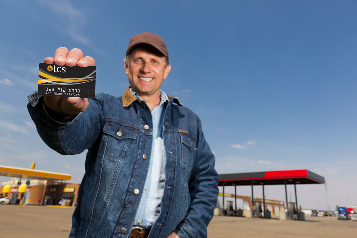 TCS Owner-Operator Fuel Card | Fuel Card for truckers