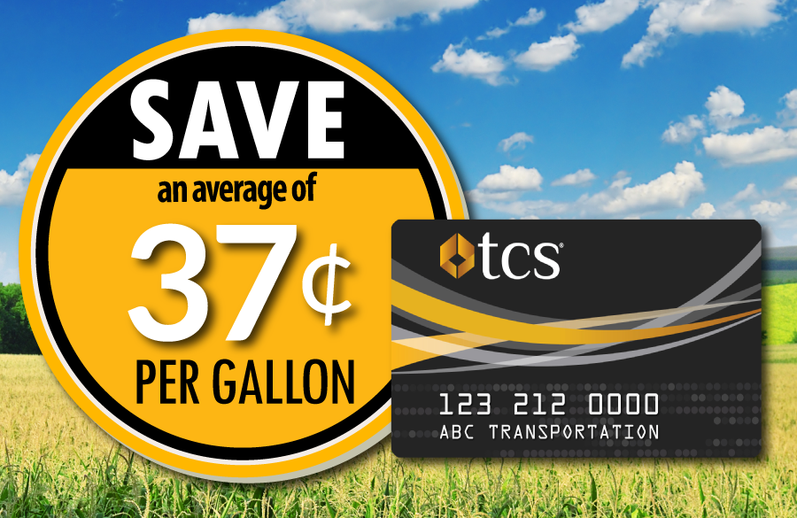 Save on fuel with the TCS Fuel Card