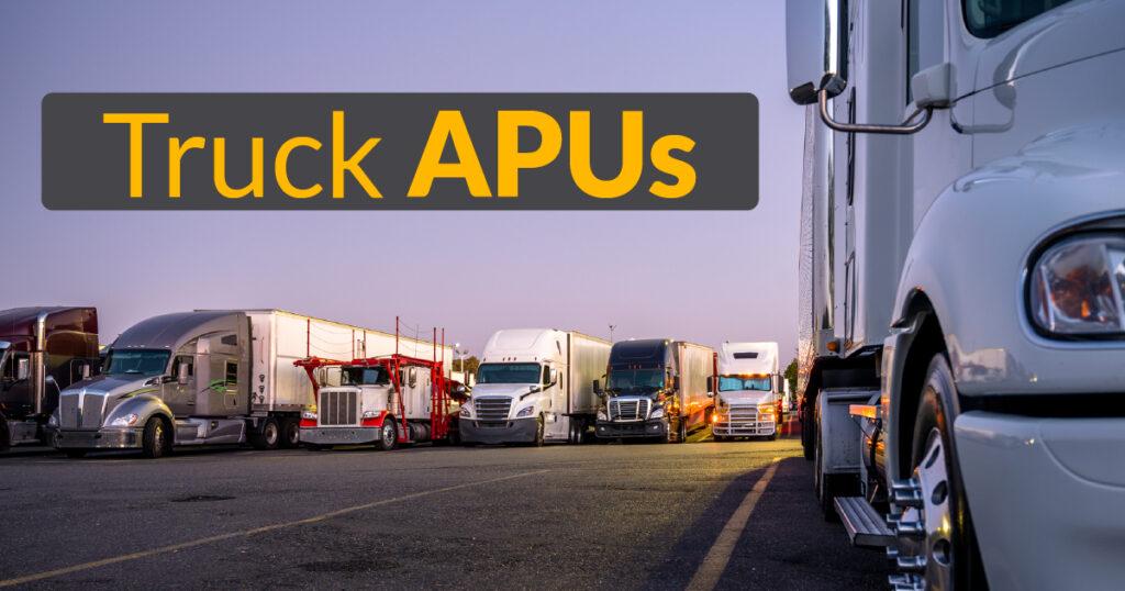 Truck APU
